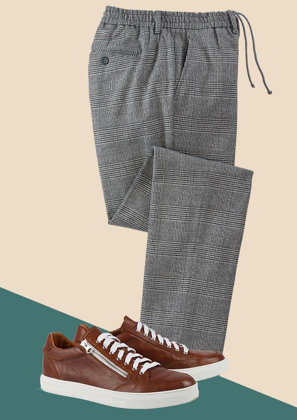 Pantalon détente & Sporting zip coté